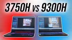 Intel i5-9300H vs Ryzen 7 3750H - Laptop CPU Comparison and Benchmarks
