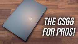 MSI WS66 Laptop Review - The GS66 of Workstations!