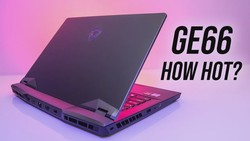 MSI GE66 Thermals Tested - Good Performance That Doesn't Melt!