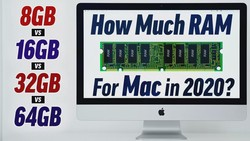 How much RAM do you REALLY need for Macs in 2020?