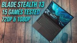 "13"" Ultrabook Gaming? Razer Blade Stealth 13 720p & 1080p Testing"