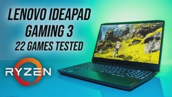 Lenovo IdeaPad Gaming 3 (Ryzen 4600H/1650 Ti) 22 Game Test!