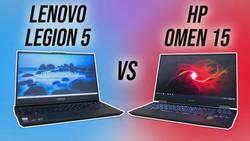 Lenovo Legion 5 vs HP Omen 15 Comparison - Which Ryzen Gaming Laptop?
