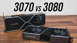 RTX 3070 vs 3080 GPU Comparison - 3080 Worth $200 More?
