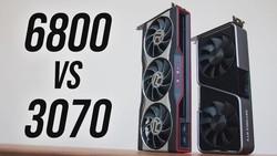 Radeon RX 6800 vs Nvidia RTX 3070 - GPU Comparison