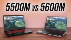 RX 5600M vs RX 5500M - 16 Game Laptop Comparison!