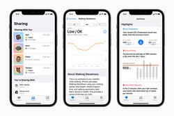 Apple improves its Health capabilities with new metrics and sharing options