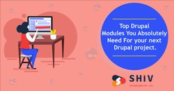 Top Drupal Modules You Absolutely Need For your next Drupal Project