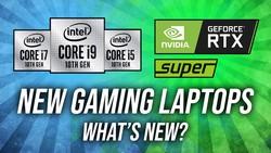 Nvidia Super + Intel 10th Gen H Laptop