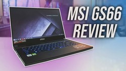 MSI GS66 Review - Best Thin And Powerful Gaming Laptop?