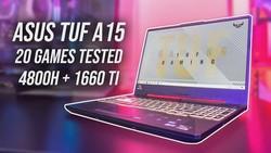 ASUS TUF A15 (Ryzen 4800H + GTX 1660 Ti) Gaming Benchmarks!