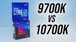Intel i7-10700K vs i7-9700K - Does Hyperthreading Matter?