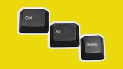 History Behind Ctrl-Alt-Delete and other key combinations?