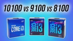 Intel i3-10100 vs 9100 vs 8100 - Does Hyperthreading Matter?