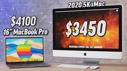 "10-core 5K iMac vs 5600M 16"" MacBook Pro for POWER Users"