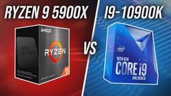 There's A New King - AMD Ryzen 9 5900X vs Intel i9-10900K