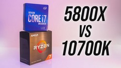 AMD Ryzen 7 5800X vs Intel i7-10700K - Best 8 Core CPU?
