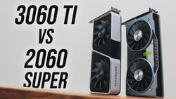 RTX 3060 Ti vs 2060 Super - Is The 2060 Super Dead?