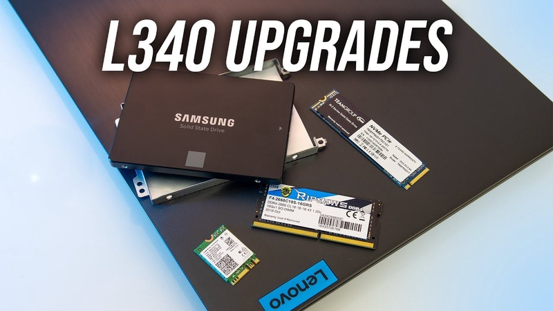 Lenovo L340 Gaming Laptop Upgrade Guide - Performance Boost?