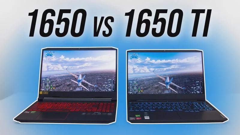 GTX 1650 vs 1650 Ti - Worth Paying More For Ti?