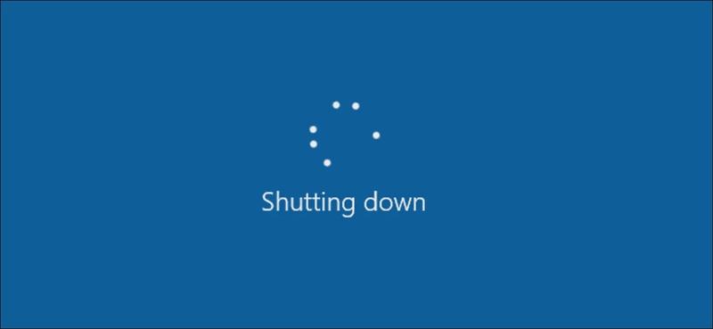 """""""Shut Down"""" Doesn't Actually Shut Down Your Windows PC"""