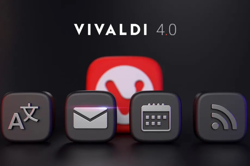 The Vivaldi browser now includes built-in mail, calendar, and RSS reader
