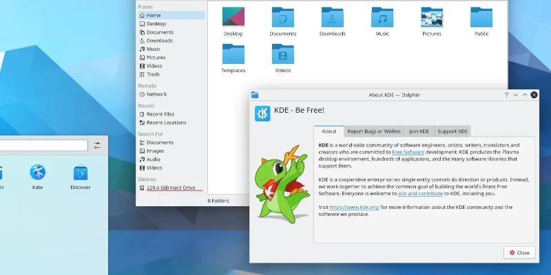 KDE Gear 21.04.2 Software Suite Update Released