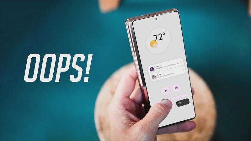 Samsung Reveals Galaxy Z Fold 3