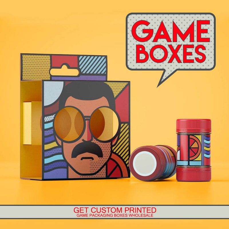 Get your Favorite Character Printed on your Game Boxes