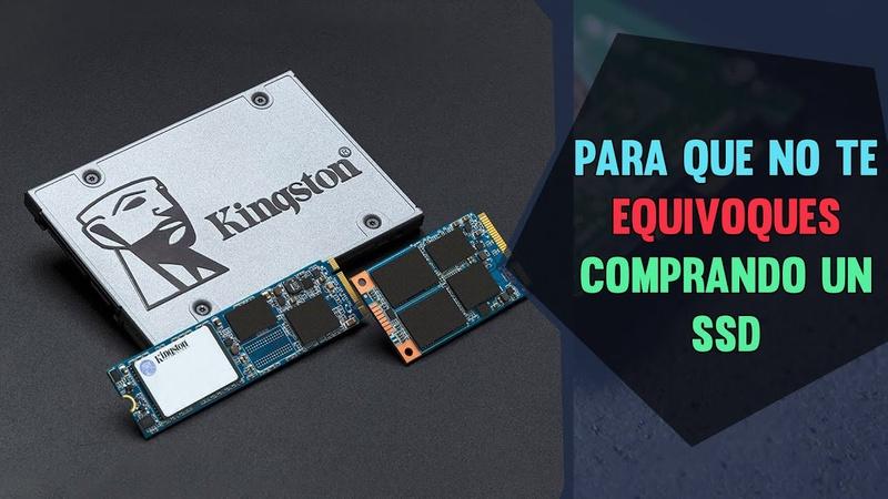 SSD M.2 vs Sata,Todo lo que debes saber de los SSD, Antes de comprarte 1