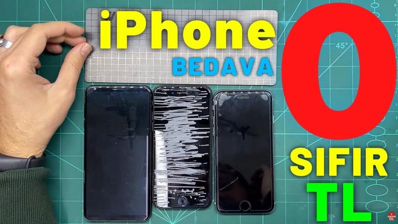 0 TL BEDAVA iPhone 7 Aldım Bit pazarından mı internet mi