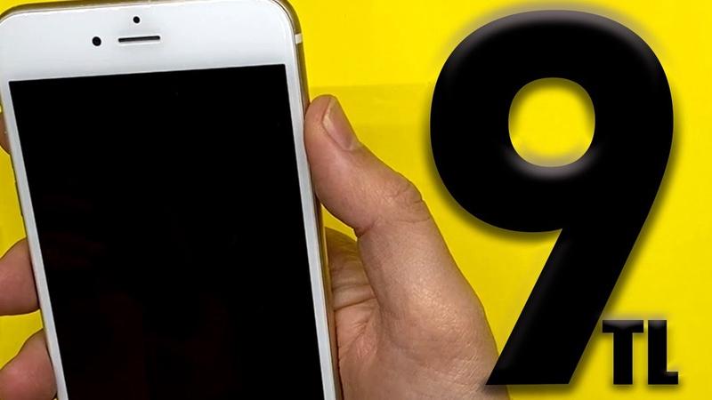 9 TL BEDAVA iPhone 6 Plus Aldım Bit pazarı mı ? iPhone 7 Yılbaşı Hediyesi