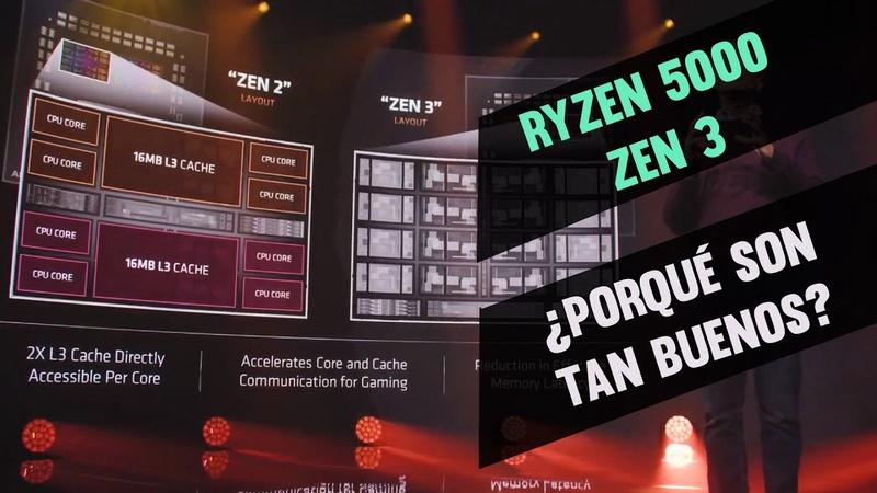¿Qué hizo AMD para que sus Ryzen 5000 sean tan buenos, Zen 3