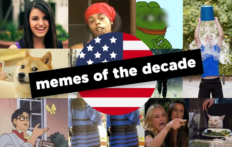 The top 10 memes of the past decade