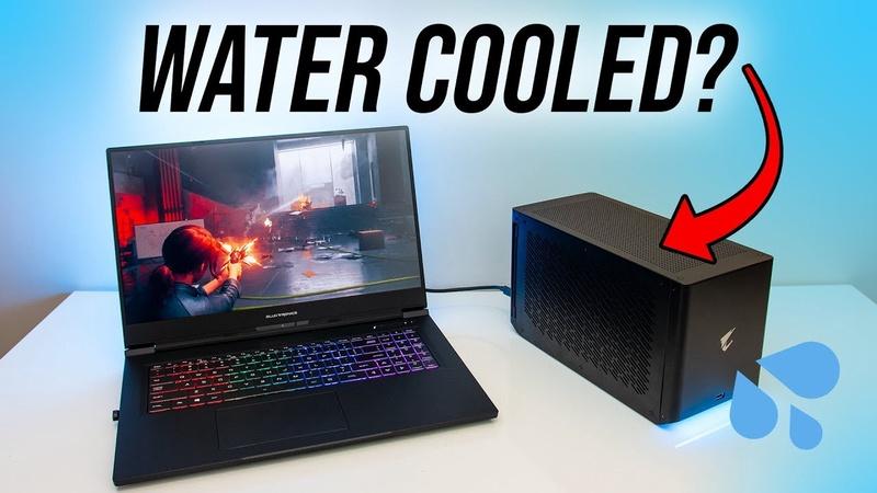 Watercooled Laptop eGPU? Aorus Gaming Box Review