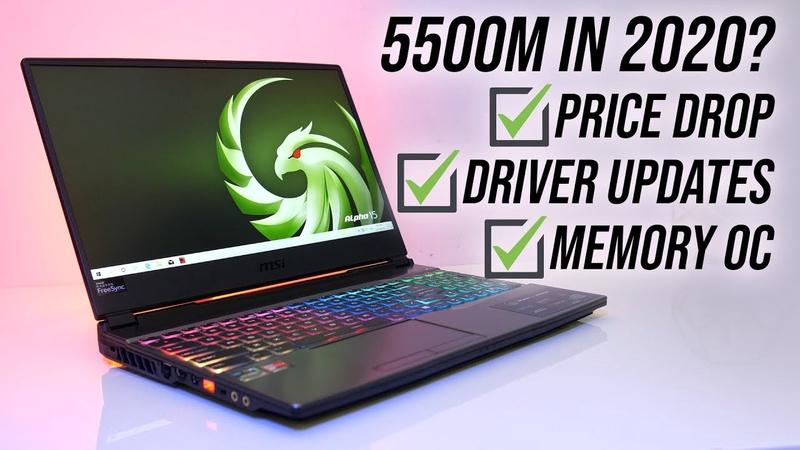 MSI Alpha 15 In 2020? Price Drop + Driver Updates!