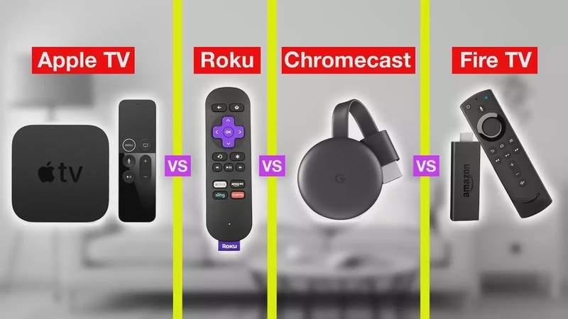 Best Streaming Device of 2020. Apple TV vs Roku vs Fire TV vs Chromecast