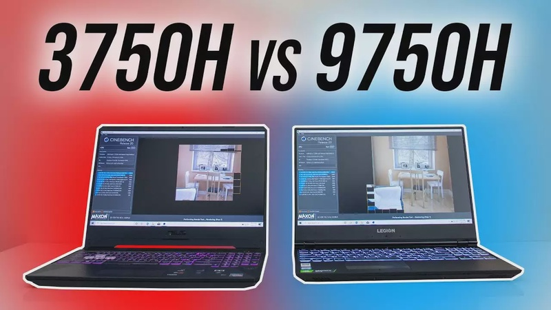Intel i7-9750H vs Ryzen 7 3750H - Laptop CPU Comparison and Benchmarks