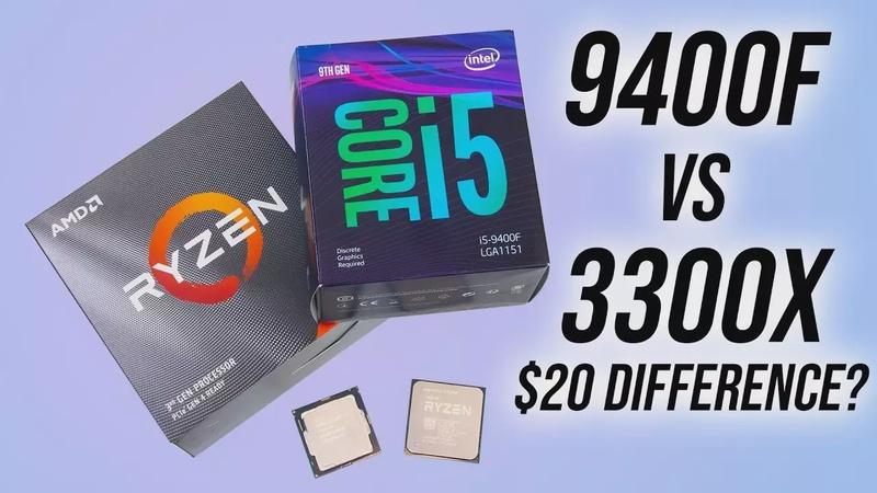 AMD Ryzen 3 3300X vs Intel i5-9400F - Budget CPU Comparison