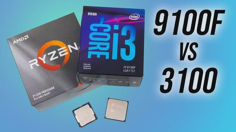 AMD Ryzen 3 3100 vs Intel i3-9100F - Budget CPU Comparison