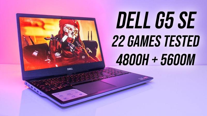 Dell G5 SE (Ryzen 4800H + 5600M) Gaming Benchmarks!