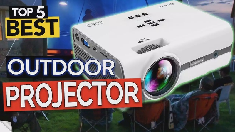TOP 5 Best Outdoor Projector - Affordable & Portable 4K (2020)