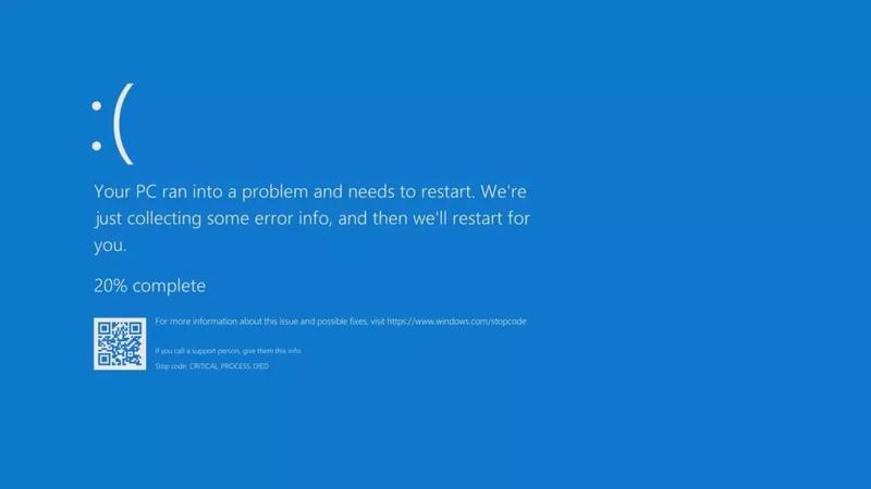 New Microsoft updates cause Windows machines to crash