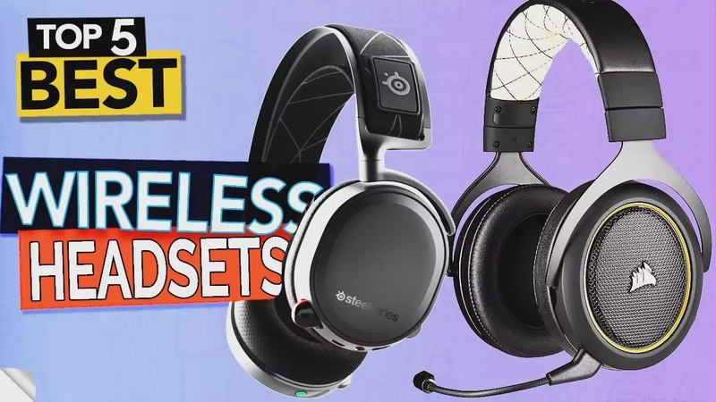 TOP 5 Best Wireless Gaming Headsets ( Wireless headphone 2020 review )