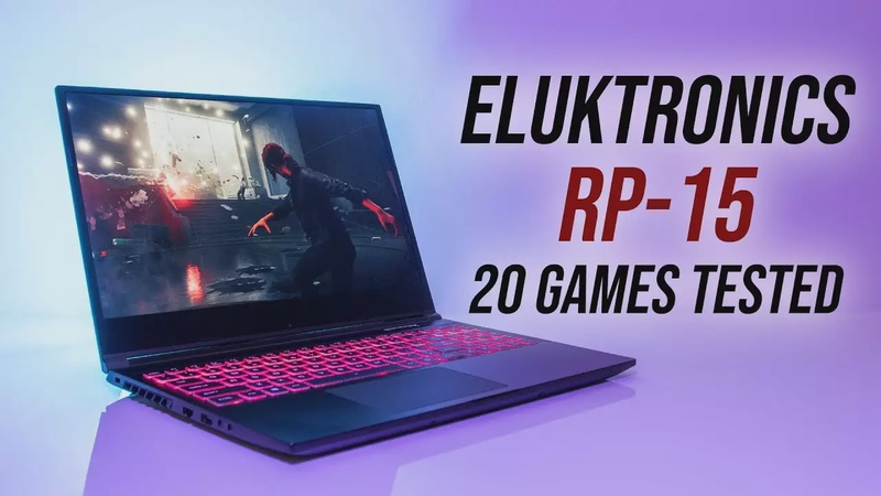 Eluktronics RP-15 Gaming Performance - 20 Games Tested!