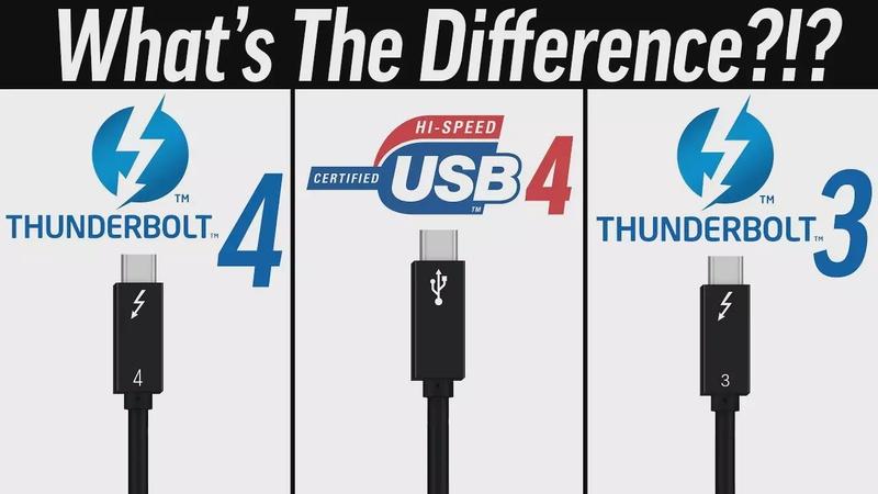 Thunderbolt 4 vs USB4 vs Thunderbolt 3 - What's Changed?