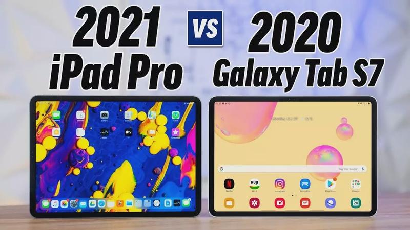 2021 iPad Pro vs Galaxy Tab S7 - Leaks & Rumors!