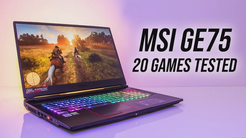 RTX 2080 Super 150W Is Crazy! MSI GE75 Game Benchmarks