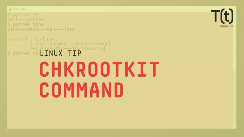 How to use the chkrootkit command. Linux Tips