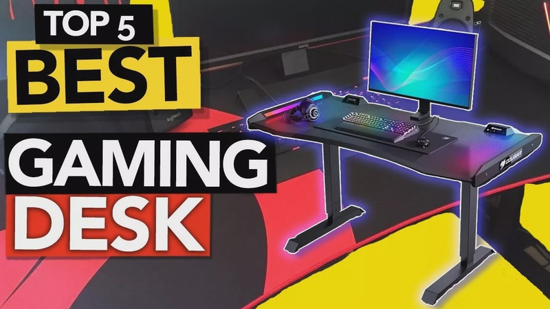 TOP 5 Best Gaming Desk of 2020 | Review with Pros & Cons